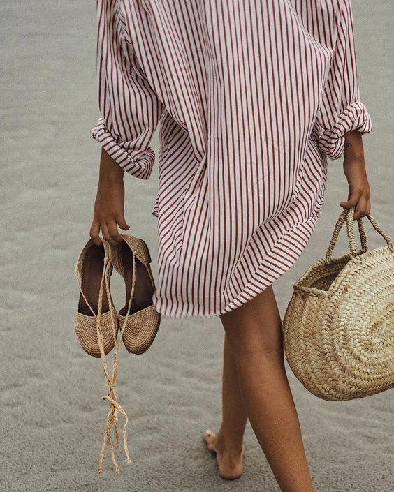 beachwear outfit's