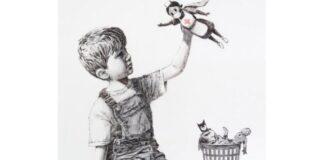 Μια Βρετανίδα νοσηλεύτρια ο σούπερ ήρωας στο νέο έργο του Banksy