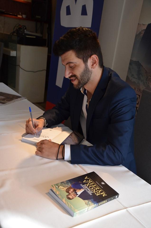 Κωνσταντίνος Σπανός: «Η λογοτεχνία για μένα είναι ένα απέραντο πανεπιστήμιο»