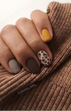 νύχια φθινοπώρου