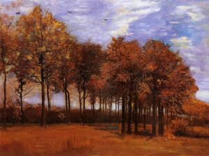 Φθινοπωρινό τοπίο – Βίνσεντ Βαν Γκογκ